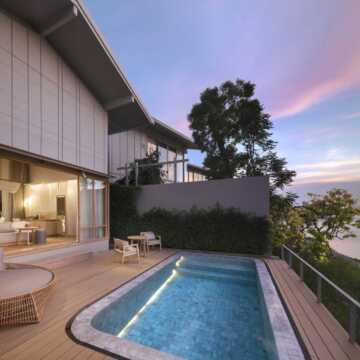 river view pool villa