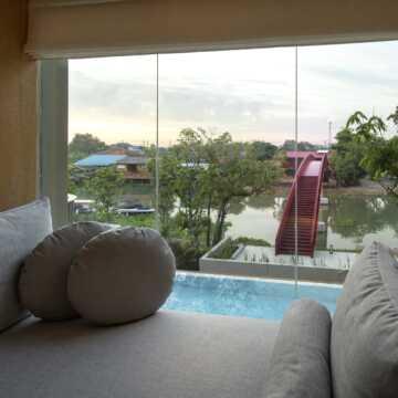 river view deluxe balcony