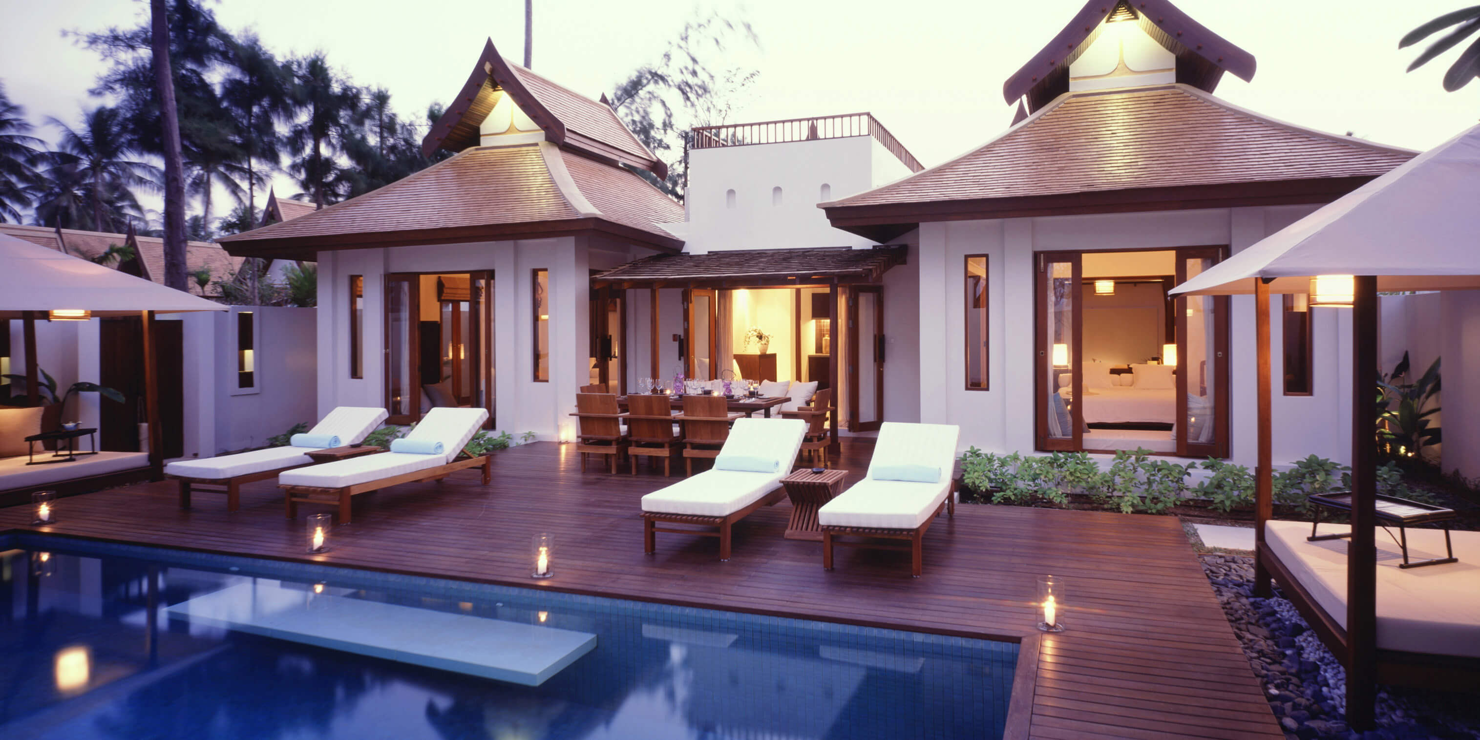Sala samui choengmon beach i luxury hotel beach front for Design hotel koh samui
