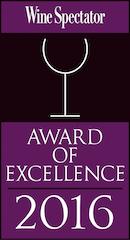 Wine Spectator Award 2016