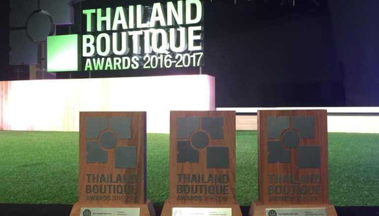 SALA HOSPITALITY GROUP WINS 3 AWARDS AT THAILAND BOUTIQUE AWARDS SEASON 4