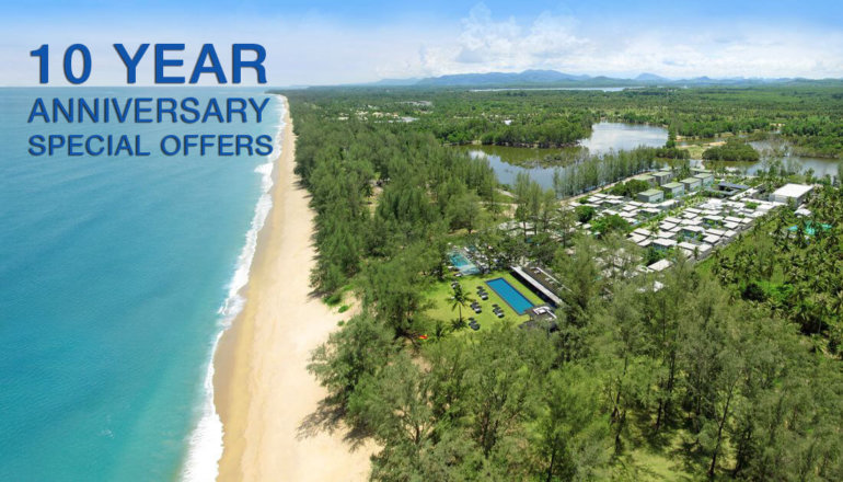 SALA PHUKET RESORT AND SPA MARKS ITS 10TH ANNIVERSARY IN DECEMBER WITH SPECIAL OFFERS AND EVENTS