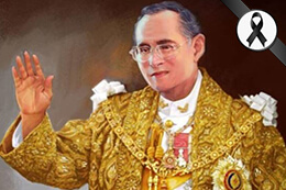 king bhumibol in remembrance