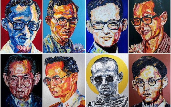 sala ayutthaya hosts new art exhibition dedicated to King Bhumibol