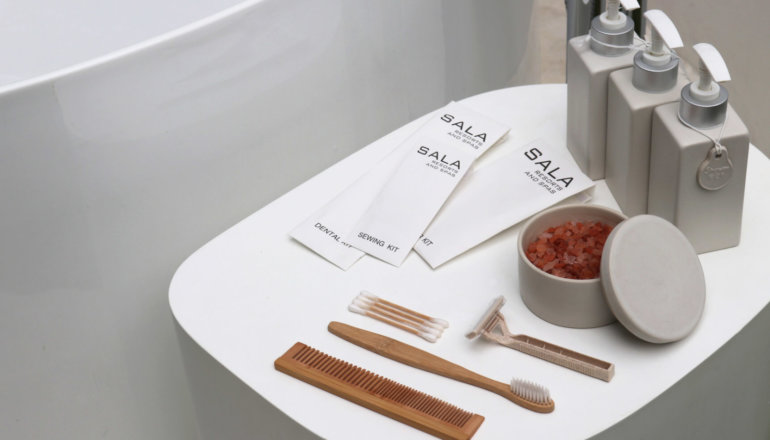 SALA Resorts and Spas removes single-use plastic from bathrooms