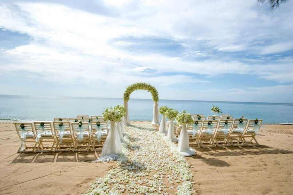 Beach Wedding Set Up2